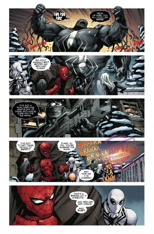 Amazing Spider Man Venom Inc. Omega 5