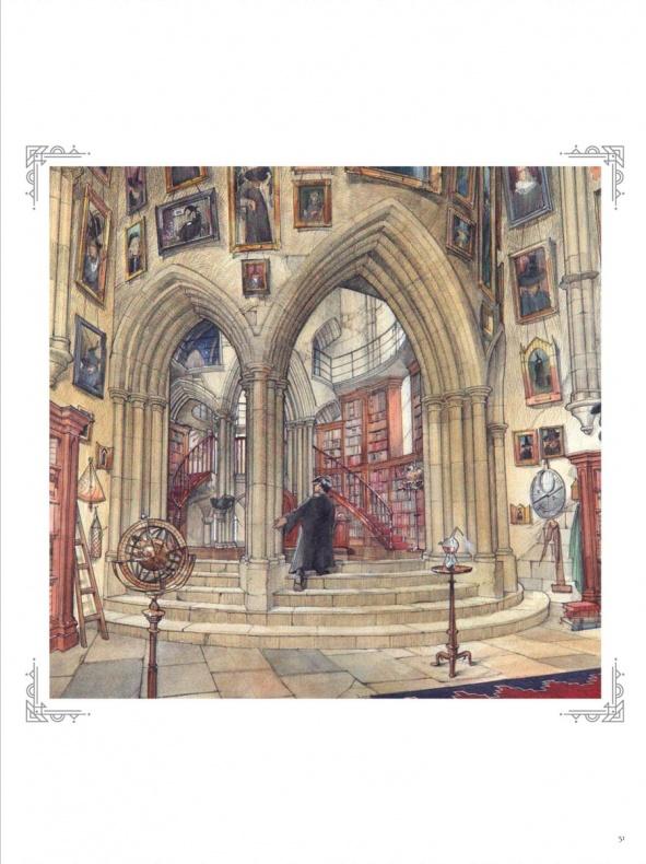 Arte Despacho de Dumbledore