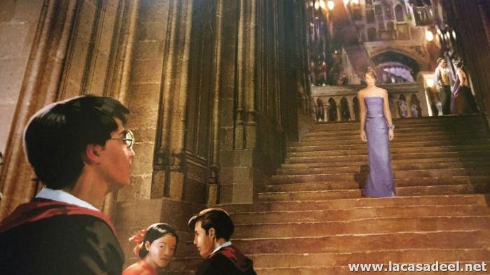 Ilustración del vestido de Hermione