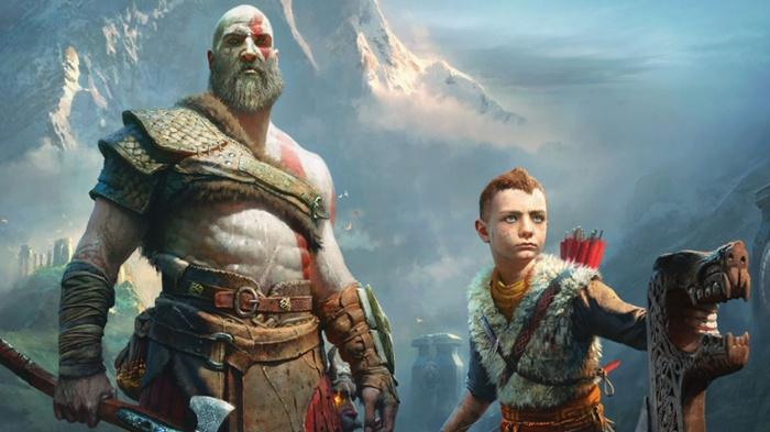 Atreus y Kratos God of War