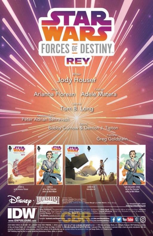 Forces of Destiny Rey 1 4