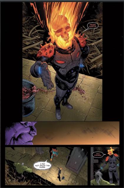 Ghost Rider Thanos