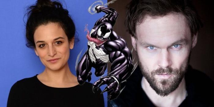 Jenny Slate y Scott Haze en Venom