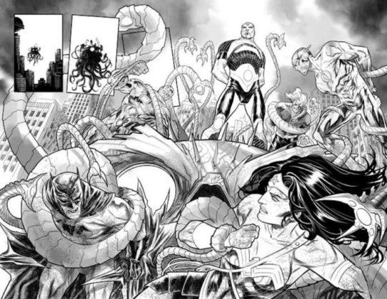 Justice League No Justice Brainiac