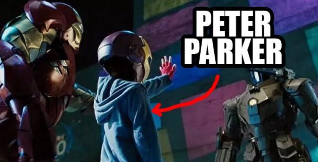 Peter Parker en Iron Man 2