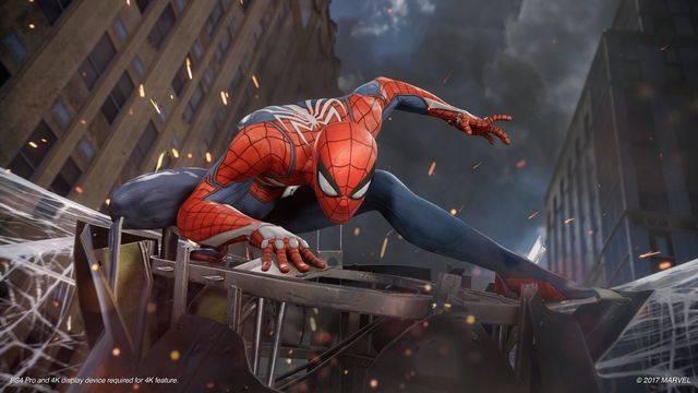 Spider Man Insomniac Games