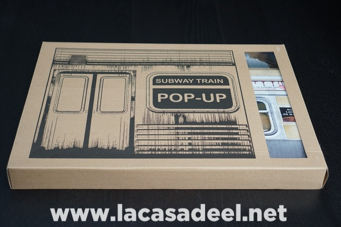 Subway Train Pop Up Extreme Sets 1