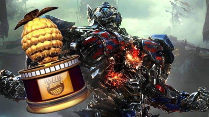 Transformers Razzie 2018