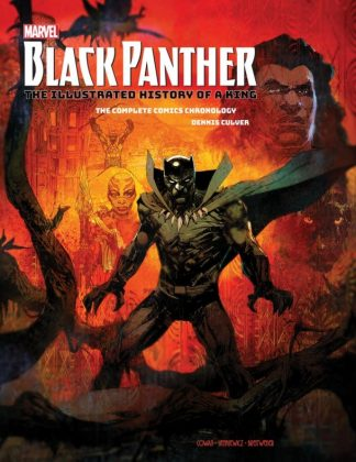 black panther illustrated history