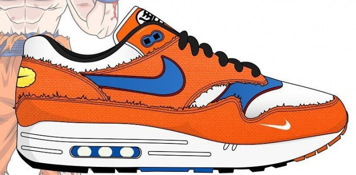 dragon ball nike zapatillas
