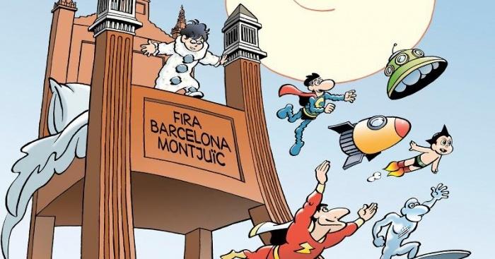 36 Salón del Cómic de Barcelona Cartel Jan