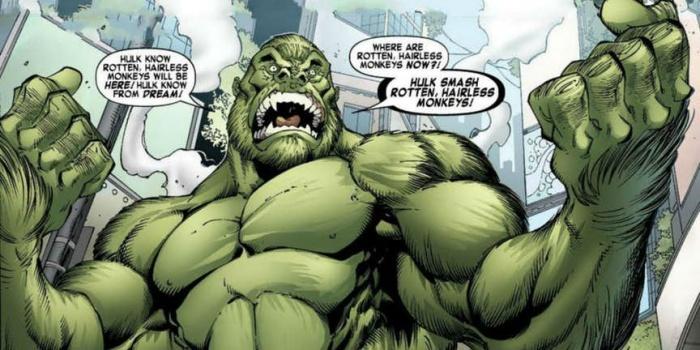 7 versiones de Hulk que son mucho más débiles que el original (1)