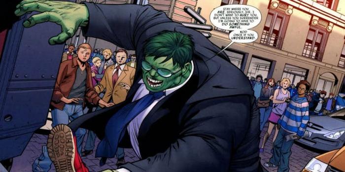 7 versiones de Hulk que son mucho más débiles que el original (4)