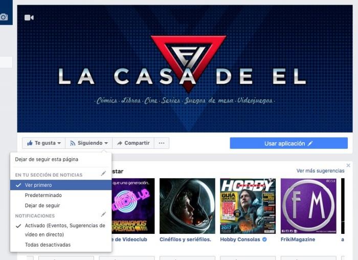 La Casa de EL Facebook
