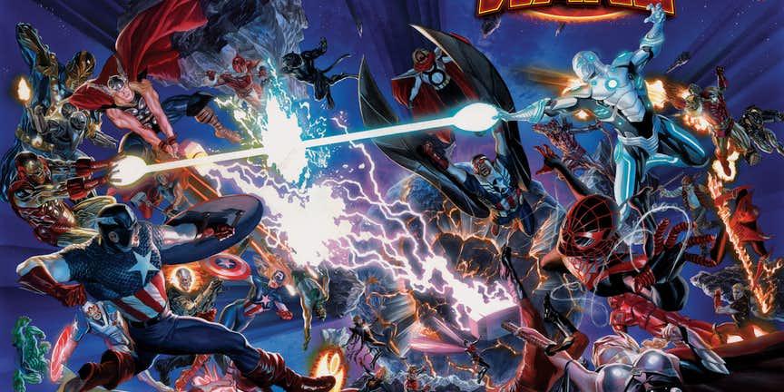 Grandmaster Avengers No Surrender Secret Wars (2)