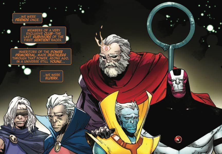 Grandmaster Avengers No Surrender Secret Wars (3)