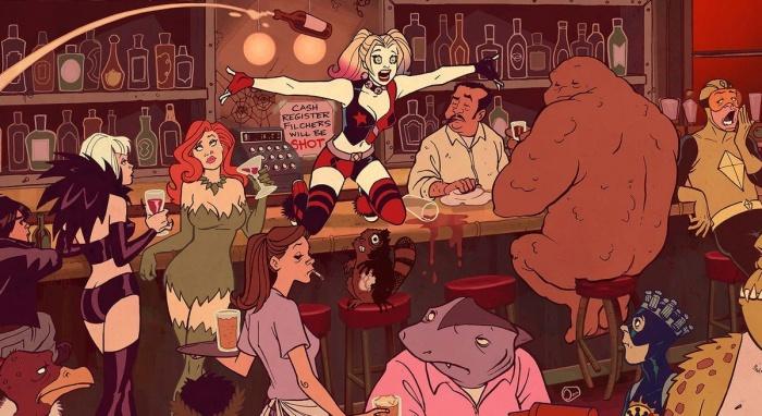 Harley Quinn Villanos