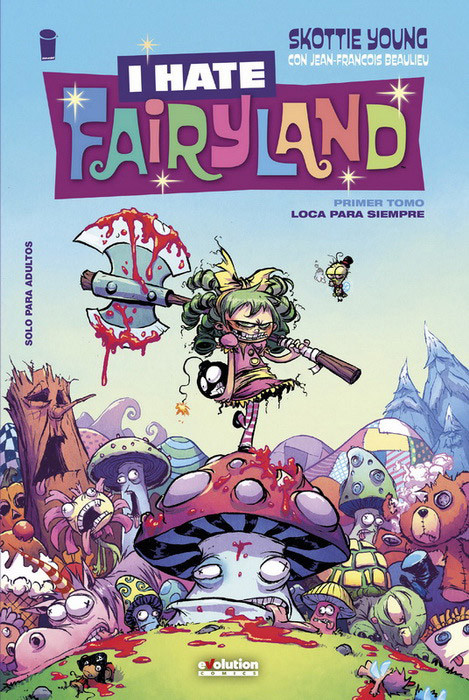 I hate fairyland portada