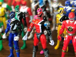 Power Rangers Bandai