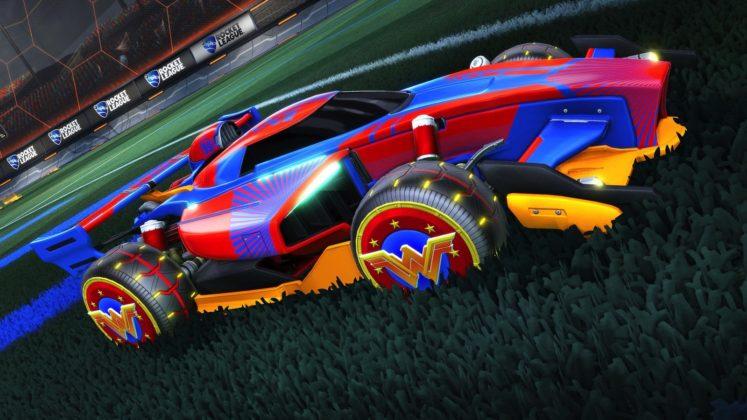 Rocket League DC dlc 01