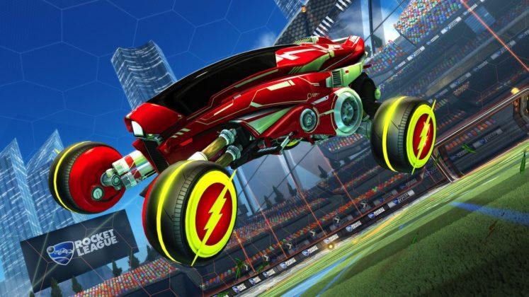 Rocket League DC dlc 02