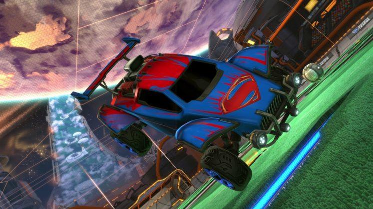 Rocket League DC dlc