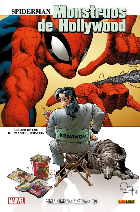 Spiderman Monstruos de Hollywood Panini
