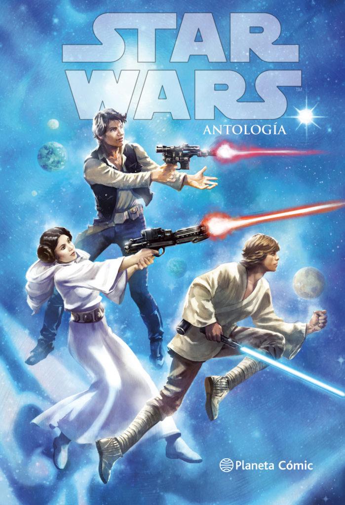 Star Wars Antología portada