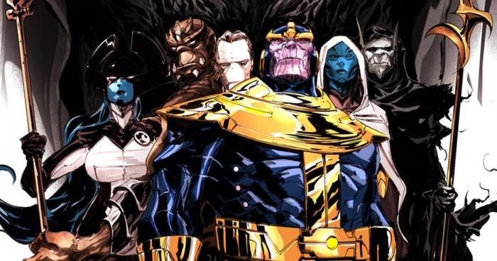 Vengadores Infinity War La Orden Negra