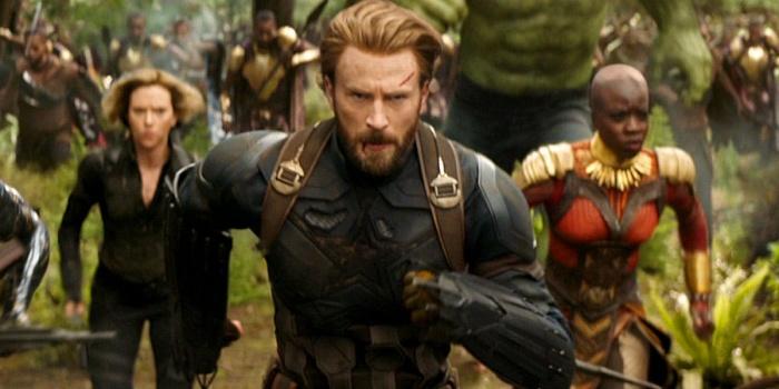 capitán américa infinity war