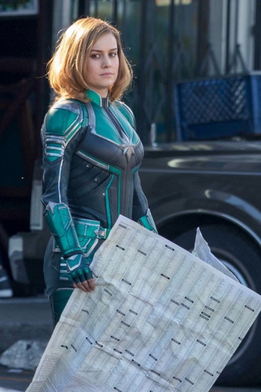 Capitana Marvel Uniforme