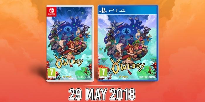 Owlboy Llegara En Formato Fisico A Ps4 Y Nintendo Switch