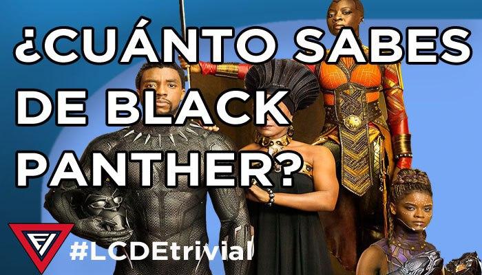 Black panther trivial