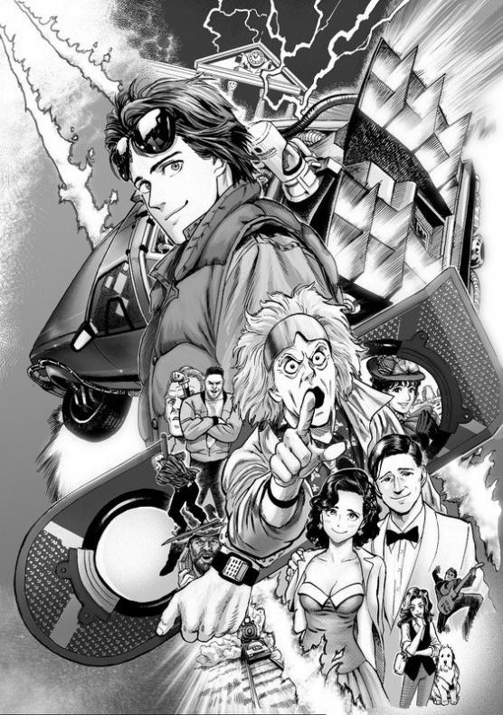 regreso al futuro manga