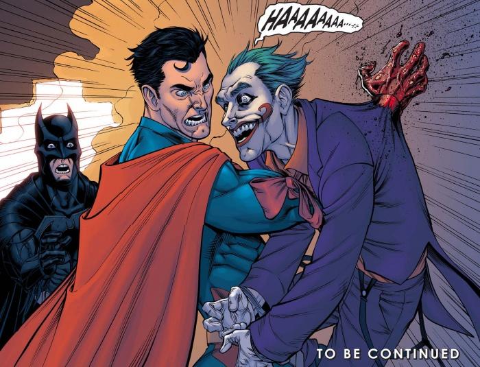 superman killing joker