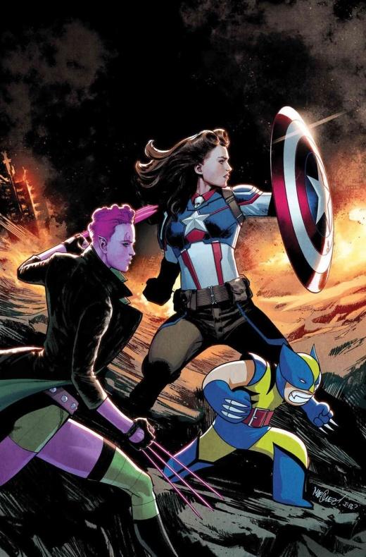 Capitán América Peggy Carter Exiles 1