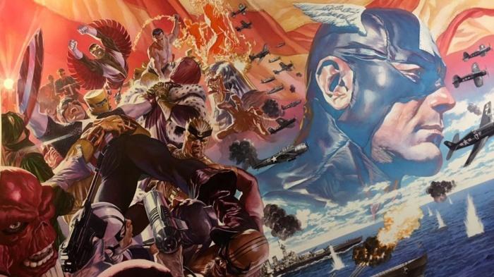 Captain America Fresh