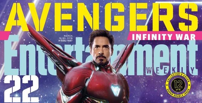 Entertainment Weekly Infinity War 15 portadas (1)