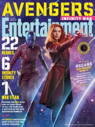 Entertainment Weekly Infinity War 15 portadas (2)
