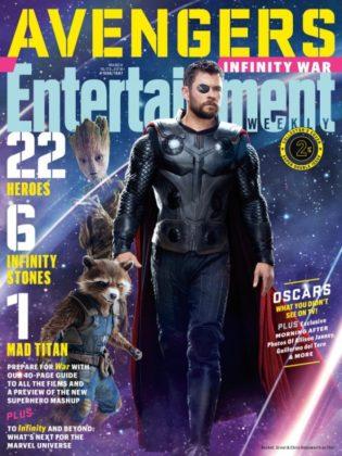 Entertainment Weekly Infinity War 15 portadas (3)