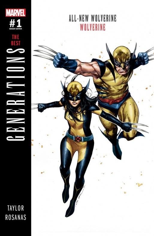 Marvel Generaciones Wolverine