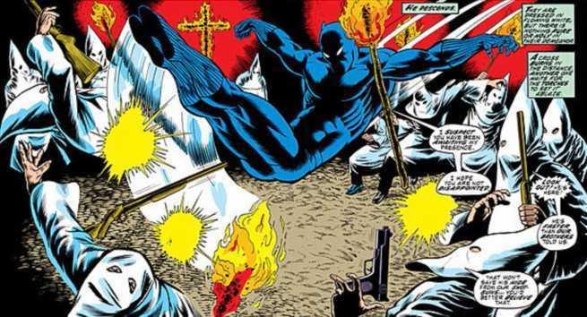 Pantera Negra contra el Klan