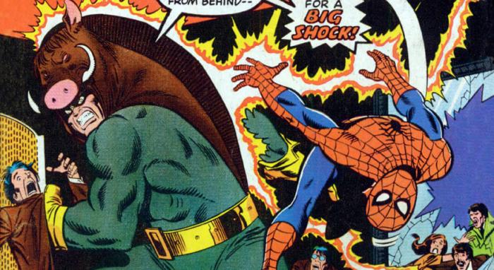Razorback y Spiderman