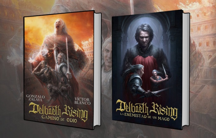 Delbaeth Rising portadas