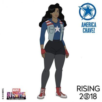 marvel rising america chavez