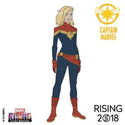 marvel rising captain marvel