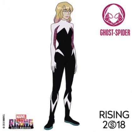 marvel rising ghost spider