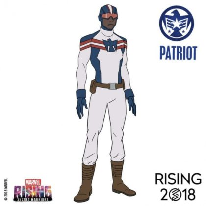 marvel rising patriot