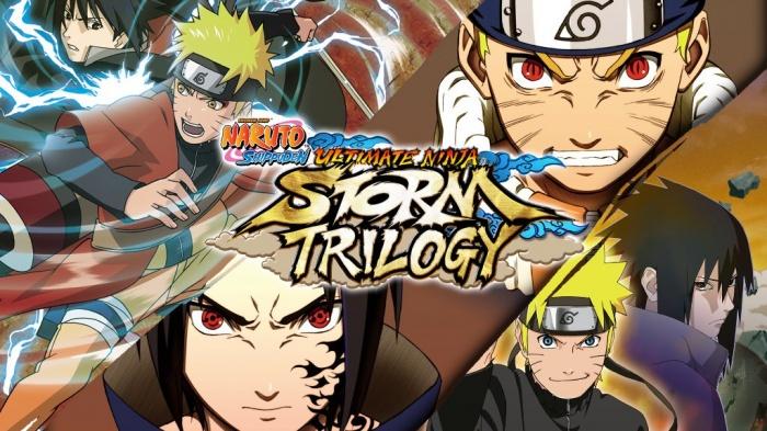 naruto storm trilogy