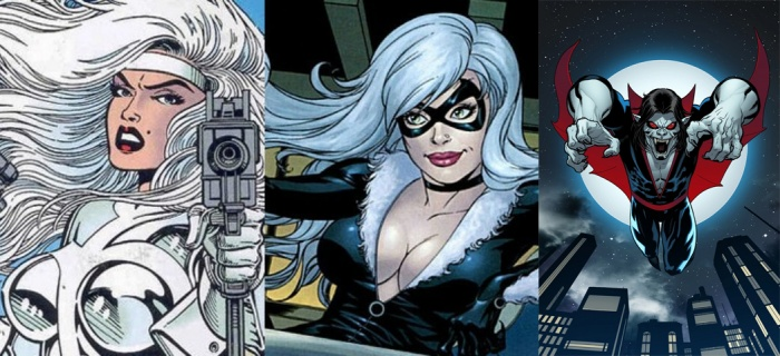 silver sable black cat morbius